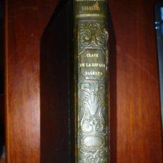 Libros antiguos: CLAVE DE LA ESPAÑA SAGRADA PEDRO SAINZ DE BARANDA 1853 MADRID . Lote 184351285