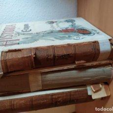 Libros antiguos: HISTORIA DE EUROPA EN EL SIGLO XVIII EMILIO CASTELAR-TOMO I-III. Lote 186056751