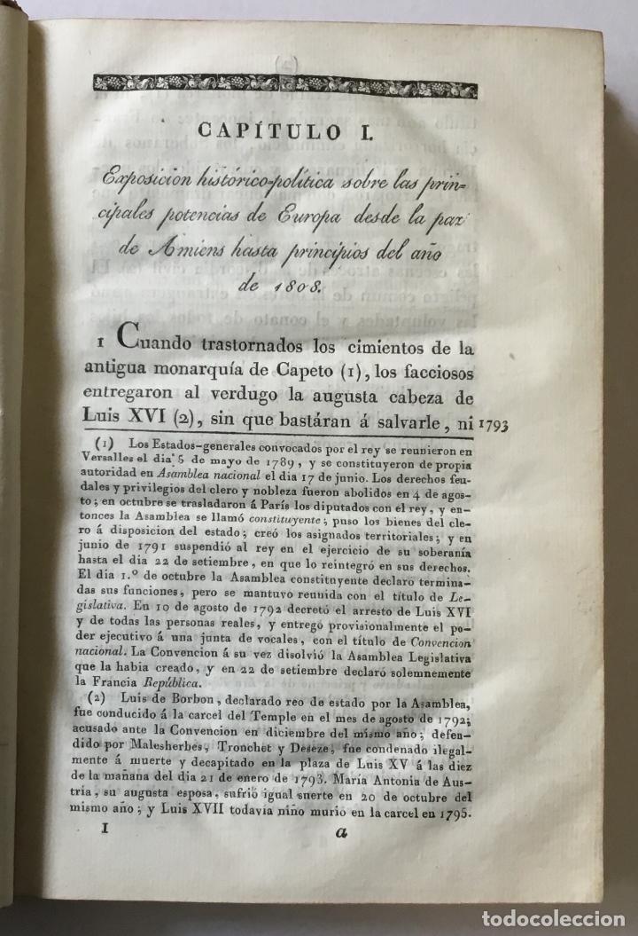 Libros antiguos: HISTORIA DE LA GUERRA DE ESPAÑA CONTRA NAPOLEON BONAPARTE. Escrita y publicada de órden de S.M. por - Foto 2 - 186920495