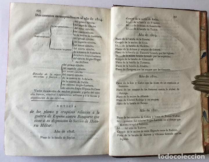 Libros antiguos: HISTORIA DE LA GUERRA DE ESPAÑA CONTRA NAPOLEON BONAPARTE. Escrita y publicada de órden de S.M. por - Foto 6 - 186920495