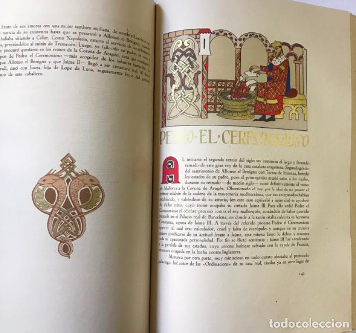 Libros antiguos: NOBILIARIO DE LA CORONA DE ARAGÓN. CASA REAL. Edición de 300 ejemplares. MIRALBELL CONDEMINAS - Foto 5 - 187155626