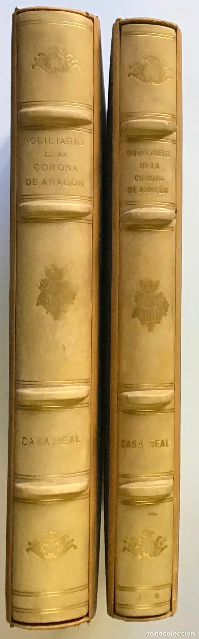 NOBILIARIO DE LA CORONA DE ARAGÓN. CASA REAL. EDICIÓN DE 300 EJEMPLARES. MIRALBELL CONDEMINAS (Libros antiguos (hasta 1936), raros y curiosos - Historia Moderna)