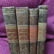 Libros antiguos: 1851. HISTORIA DE CIEN AÑOS (1750 A 1850). CÉSAR CANTÚ. 4 TOMOS. OBRA COMPLETA. . Lote 187169636