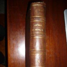 Libros antiguos: HISTORIA DE FELIPE II EVARISTO SAN MIGUEL 1868 BARCELONA TOMO 2 EDICION DE GRAN LUJO 2ª. Lote 187396392