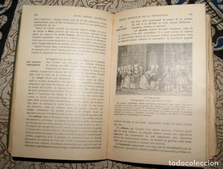 Libros antiguos: Course abrégé dHistoire 1920 Albert Malet, Jules Isaac - Foto 2 - 187435796