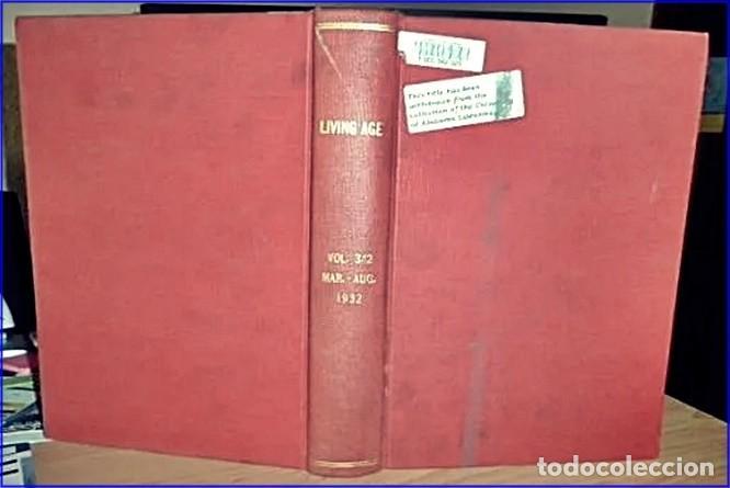 Libros antiguos: AÑO 1932: THE LIVING AGE. CON ARTÍCULO DE HITLER. 570 PÁGINAS. - Foto 9 - 189249117