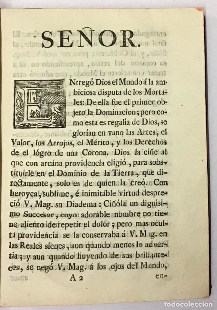 Libros antiguos: COMENTARIOS DE LA GUERRA DE ESPAÑA, E HISTORIA DE SU REY PHELIPE V. EL ANIMOSO, DESDE EL PRINCIPIO D - Foto 3 - 189363177