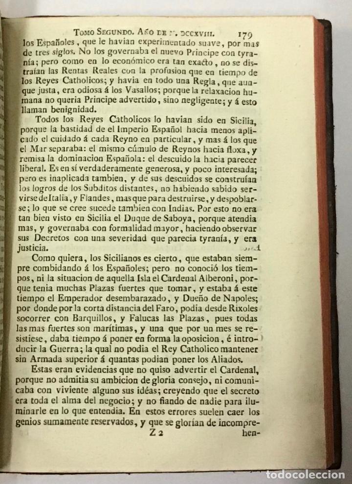 Libros antiguos: COMENTARIOS DE LA GUERRA DE ESPAÑA, E HISTORIA DE SU REY PHELIPE V. EL ANIMOSO, DESDE EL PRINCIPIO D - Foto 5 - 189363177
