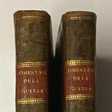 Libros antiguos: COMENTARIOS DE LA GUERRA DE ESPAÑA, E HISTORIA DE SU REY PHELIPE V. EL ANIMOSO, DESDE EL PRINCIPIO D. Lote 189363177