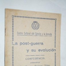 Libros antiguos: LA POST-GUERRA Y SU EVOLUCIÓN. FRANCISCO RODRIGUEZ. 1930. Lote 189620677