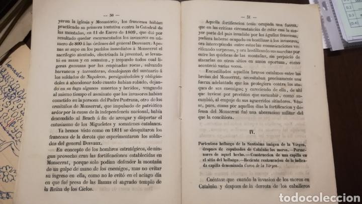 Libros antiguos: La Estrella del Montserrat. Libro de 1867. - Foto 3 - 190996666