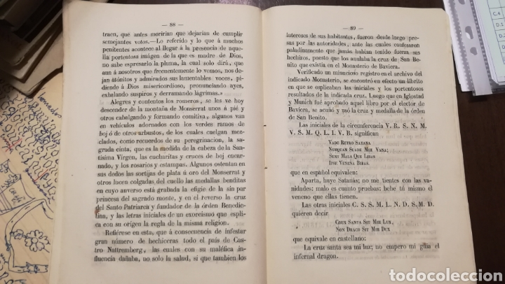 Libros antiguos: La Estrella del Montserrat. Libro de 1867. - Foto 4 - 190996666