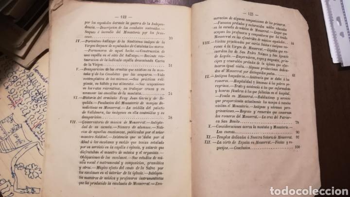 Libros antiguos: La Estrella del Montserrat. Libro de 1867. - Foto 5 - 190996666