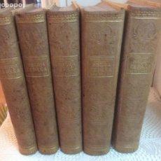 Libros antiguos: PI I MARGALL, FRANCISCO. HISTORIA DE ESPAÑA EN EL SIGLO XIX. 5 VOL. ED. M. SEGUÍ. BARCELONA1902. Lote 191268296