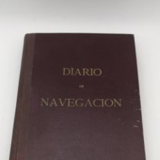 Libros antiguos: DIARIO DE NAVEGACIÓN BUQUE CALATRAVA 1966 67. Lote 191352981