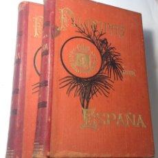 Libros antiguos: 1897 * ISLAS FILIPINAS : NARRACIÓN DE LA REBELIÓN FILIPINA EN DOS VOLÚMENES CON MAS DE 1500 PAGINAS. Lote 191387447