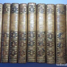 Libros antiguos: 1783 * 9 VOLUMENES * RAYNAL * HISTORIA DE LAS COLONIAS EUROPEAS EN AMERICA Y ASIA * MAS DE 3000 PAG. Lote 191393968