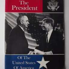 Libros antiguos: KENNEDY, THE PRESIDENT, PUBLICADO POR UNITED STATES INFORMATION SERVICE. Lote 191611132