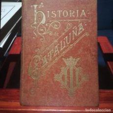 Libros antiguos: ANTONIO BORI Y FONTESTA- IHISTORIA DE CATALUÑA-IMPRENTA DE HENRICH Y C.-1898. Lote 192837951