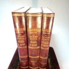Libros antiguos: - CATÁLOGO MONUMENTAL DE ESPAÑA. PROVINCIA DE CÁCERES ( 1914- 1916 ). JOSÉ RAMÓN MÉLIDA. 1924. Lote 193008761