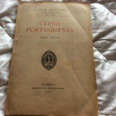 Libros antiguos: LETRAS PORTUGUESAS (NUEVA EDICIÓN) - D. JERONYMO OSORIO. AÑO 1922. ENVIO GRÁTIS.. Lote 194219602