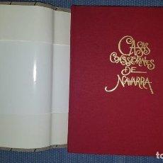 Libros antiguos: CASAS CONSISTORIALES DE NAVARRA. Lote 194345768