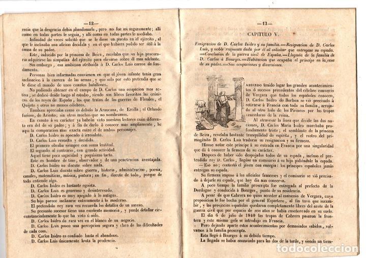Libros antiguos: HISTORIA BIOGRAFICA DEL CONDE DE MONTEMOLIN, APELLIDADO CARLOS VI POR SUS PARTIDARIOS. 1849 - Foto 3 - 194760870