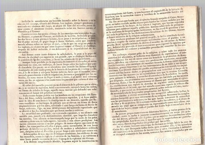 Libros antiguos: HISTORIA DE NAPOLEON, EMPERADOR DE LOS FRANCESES. 1846 - Foto 3 - 194761307