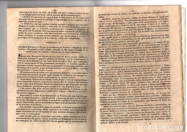 Libros antiguos: HISTORIA DE NAPOLEON, EMPERADOR DE LOS FRANCESES. 1846 - Foto 4 - 194761307