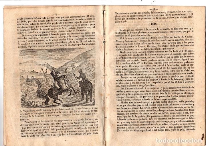 Libros antiguos: BIOGRAFIA DE DON MARTIN ZURBANO. REGENCIA DE ESPARTERO. 1847 - Foto 3 - 194763222