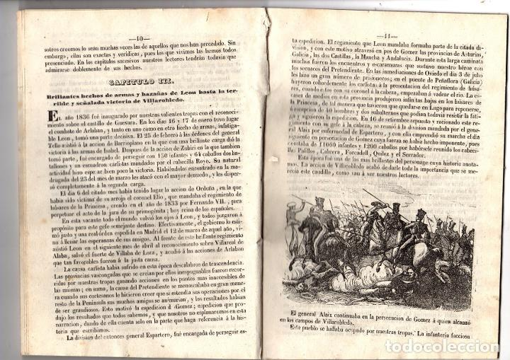 Libros antiguos: HISTORIA DE D. DIEGO LEON, PRIMER CONDE DE BELASCOAIN. 1847 - Foto 3 - 194765243