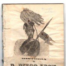 Libros antiguos: HISTORIA DE D. DIEGO LEON, PRIMER CONDE DE BELASCOAIN. 1847. Lote 194765243