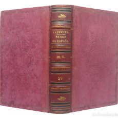 Libros antiguos: 1866 - HISTORIA DEL REINADO DE FERNANDO VII - ESPAÑA, SIGLO XIX - LIBRO ANTIGUO, ENCUADERNACIÓN. Lote 194940805