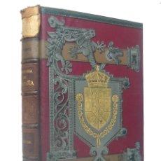 Libros antiguos: 1890 HISTORIA DE ESPAÑA. REGENCIA DE M.ª CRISTINA, PRIMERA GUERRA CARLISTA, GENERAL MINA, MENDIZÁBAL. Lote 194940980