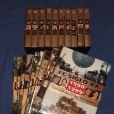 Libros antiguos: 10 LIBROS Y 10 PELICULAS VHS - SIGLO XX DE 1900 A 1999. Lote 195184890