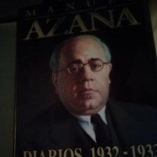 Libri antichi: AZAÑA DIARIOS 1932 A 1933. Lote 195643082