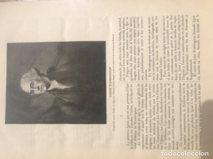 Libros antiguos: 1885. Historia Biográfica de los Presidentes de Estados Unidos. Leopoldo Verneuill. - Foto 5 - 196759908