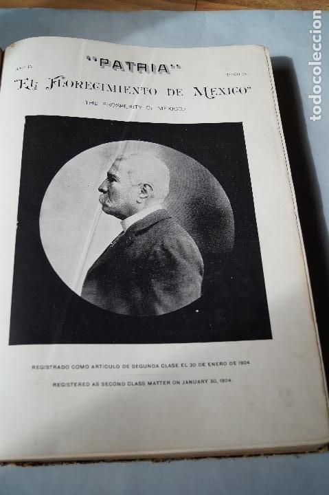 Libros antiguos: EL FLORECIMIENTO DE MEXICO. 2 DE ABRIL DE 1906. GRAN FORMATO. - Foto 4 - 197272508