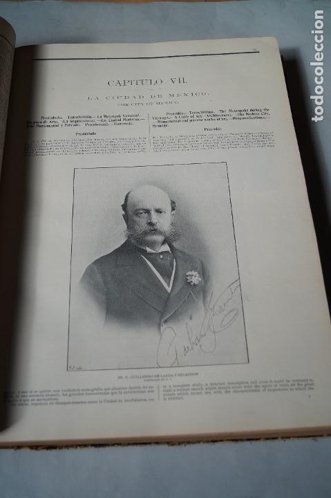 Libros antiguos: EL FLORECIMIENTO DE MEXICO. 2 DE ABRIL DE 1906. GRAN FORMATO. - Foto 5 - 197272508