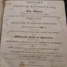 Libros antiguos: ANTIGUO LIBRO DE 1817 SOBRE LAS GUERRAS DE REVOLUCIÓN FRANCESA Y NAPOLEÓNICAS. Lote 197475231