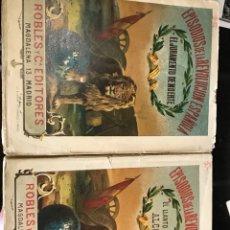Libros antiguos: EPISODIOS DE LA REVOLUCIÓN ESPAÑOLA DOS EJEMPLARES. Lote 198979067