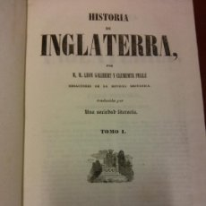 Libri antichi: HISTORIA DE INGLATERRA. TOMO I. IMPRENTA DEL IMPARCIAL . Lote 200259476