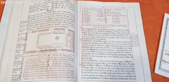 Libros antiguos: CEREMONIAL DE LAS ASSISTENCIAS Y FUNCIONES VALENCIA,FACSIMIL. - Foto 9 - 201485433