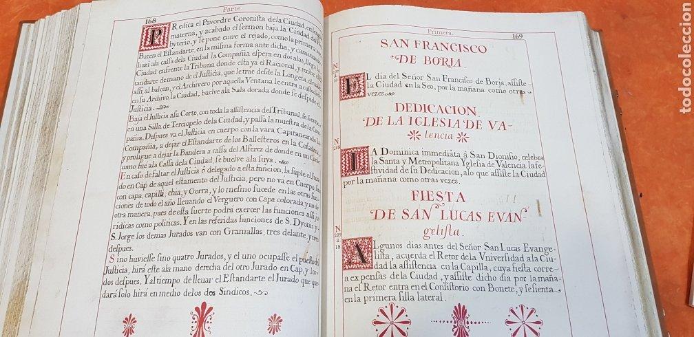 Libros antiguos: CEREMONIAL DE LAS ASSISTENCIAS Y FUNCIONES VALENCIA,FACSIMIL. - Foto 12 - 201485433