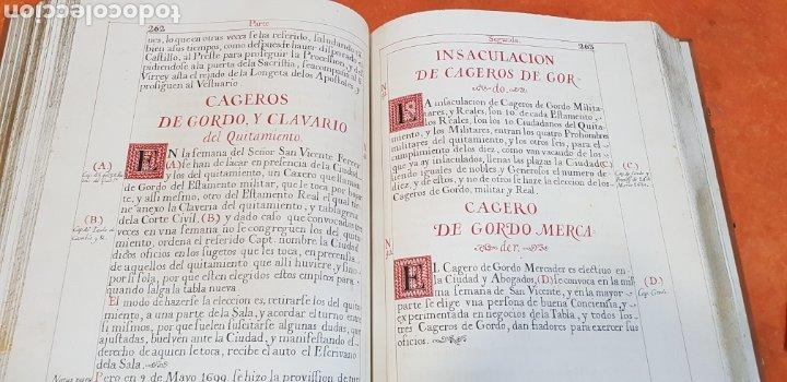 Libros antiguos: CEREMONIAL DE LAS ASSISTENCIAS Y FUNCIONES VALENCIA,FACSIMIL. - Foto 15 - 201485433