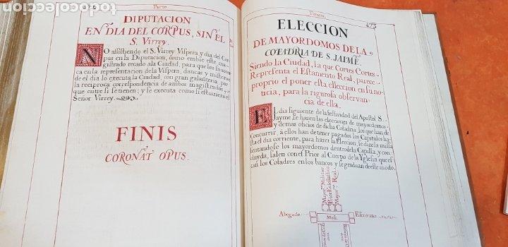 Libros antiguos: CEREMONIAL DE LAS ASSISTENCIAS Y FUNCIONES VALENCIA,FACSIMIL. - Foto 17 - 201485433