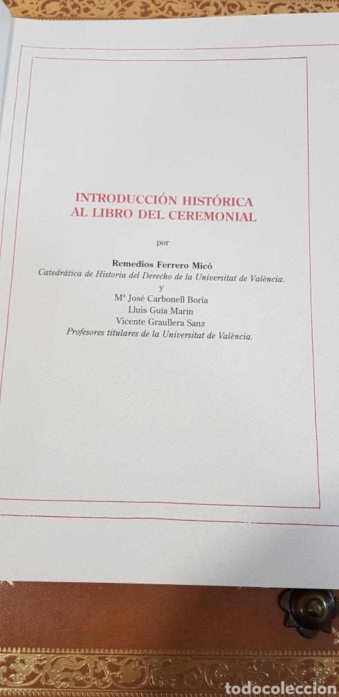 Libros antiguos: CEREMONIAL DE LAS ASSISTENCIAS Y FUNCIONES VALENCIA,FACSIMIL. - Foto 18 - 201485433