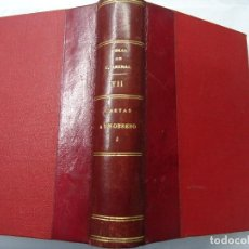 Libros antiguos: CARTAS A UN OBRERO 1924 O.C. CONCEPCIÓN ARENAL TOMO 1 CON 505 PÁGINAS EDITADO EN MADRID POR VICTORIA. Lote 201856577