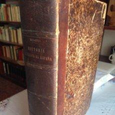 Livros antigos: MORAYTA, HISTORIA DE ESPAÑA. TOMO IX / TOMO 9. Lote 202873176