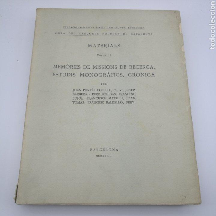 Libros antiguos: Obra del cançoner popular Catalunya 3 volums 1928 1929 - Foto 3 - 204328670